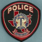 Texarkana Texas Police Patch