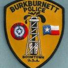 Burkburnett Texas Police Patch
