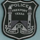 Freeport Texas Police Patch
