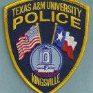 Texas A & M University Kingsville Police Patch