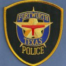 Fort Worth Texas Police Patch