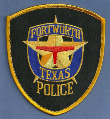 Fort worth texas police patch for Fish store fort worth