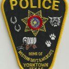 Yorktown Texas Police Patch