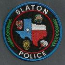 Slaton Texas Police Patch