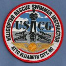 United States Coast Guard Helicopter Rescue Swimmer Instructor Patch