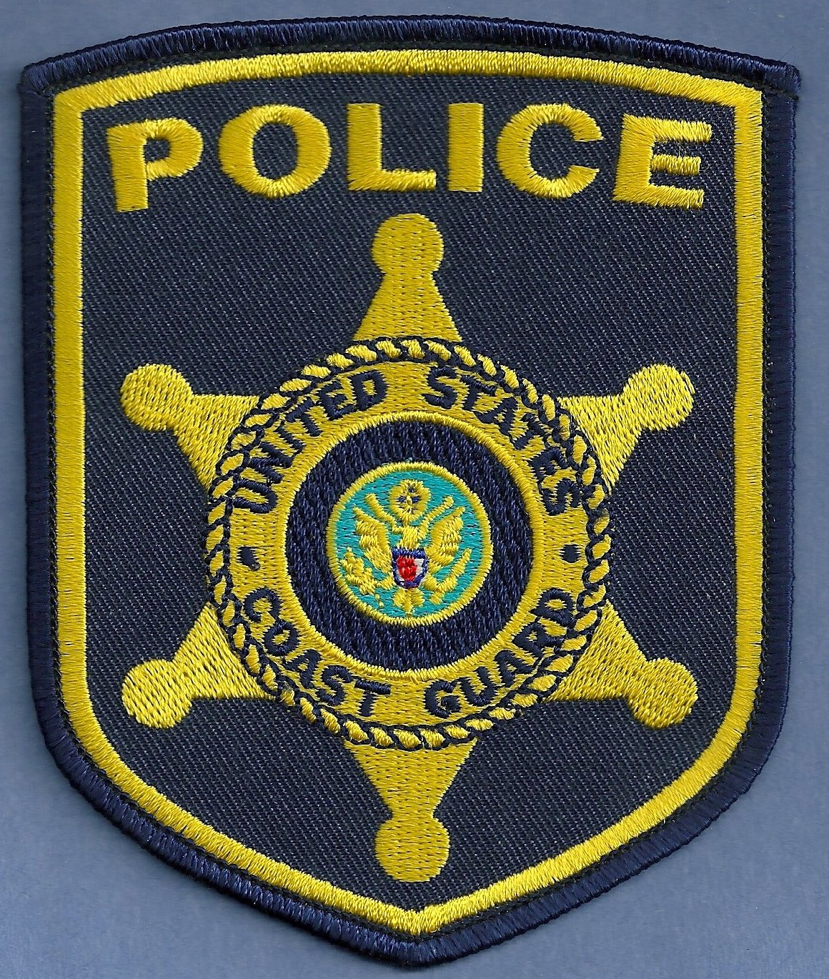 United states coast guard police patch for Michaels craft store rancho san diego