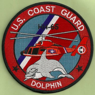 United states coast guard hh 65 dolphin helicopter patch for Michaels craft store rancho san diego