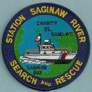 United States Coast Guard Saginaw River Michigan SAR Patch