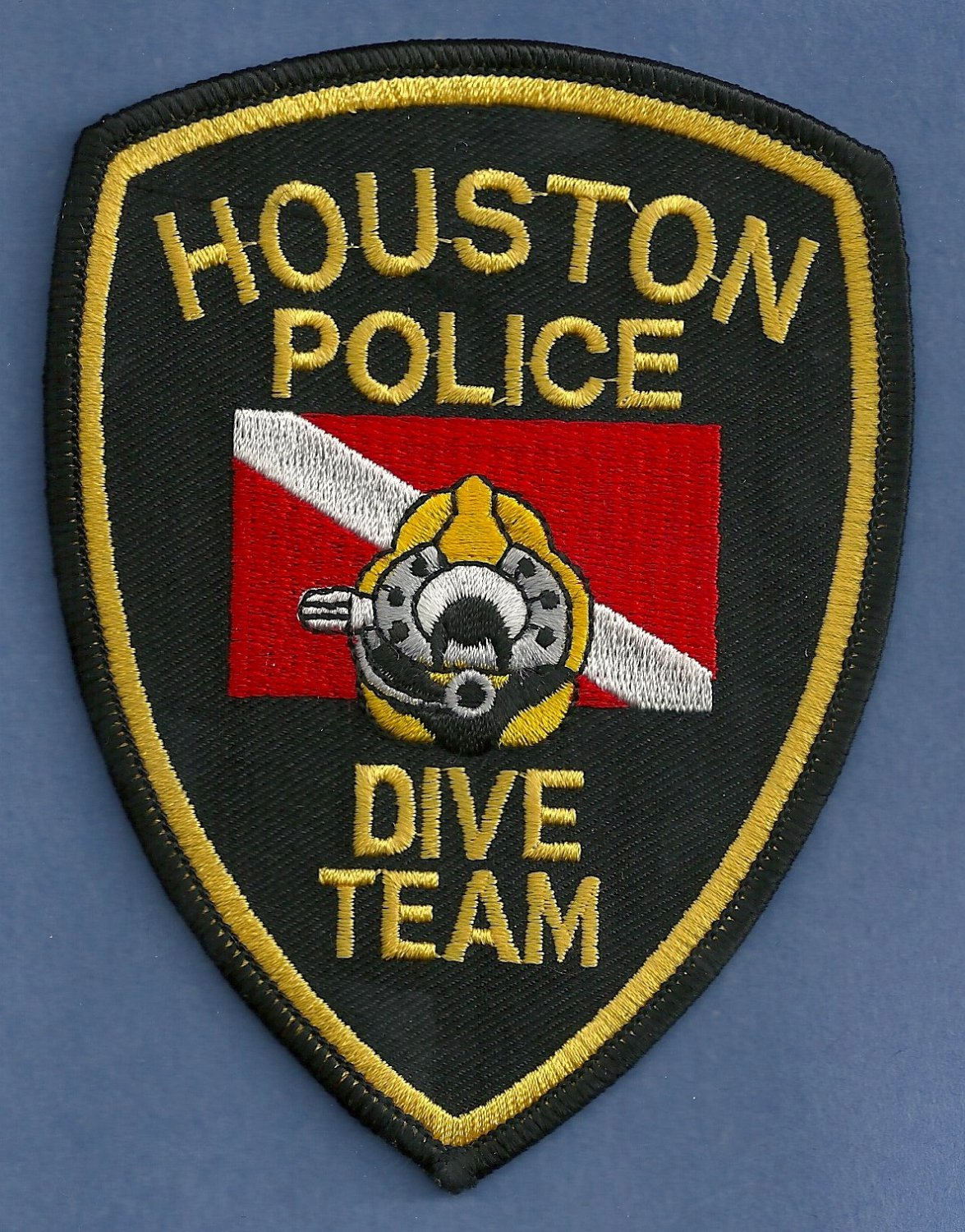 Houston Texas Police Dive Team Patch