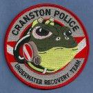 Cranston Rhode Island Police Dive Team Patch