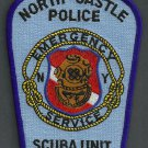 North Castle New York Police Dive Team Patch
