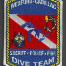 Wexford-Cadillac Michigan Police Fire Dive Team Patch