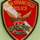 San Francisco California Police Dive Team Patch