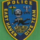 East Haven Connecticut Police Dive Team Patch