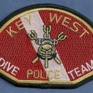 Key West Florida Police Fire Dive Team Patch
