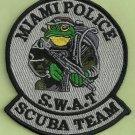 Miami Florida Police SWAT Dive Team Patch