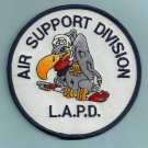 Los Angeles California Police Helicopter Air Unit Patch