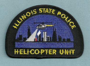 Illinois State Police Helicopter Air Unit Patch