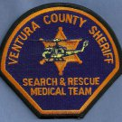 Ventura County Sheriff Search & Rescue Helicopter Air Unit Police Patch