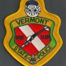 Vermont State Police Dive Team Patch