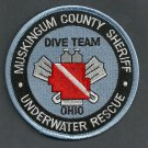 Muskingum County Sheriff Ohio Police Dive Team Patch