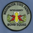 Washington State Patrol Police Bomb Squad Patch
