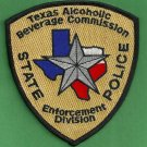 Texas Alcoholic Beverage Control Police Patch