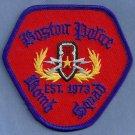 Boston Massacusetts Police Bomb Squad Patch