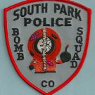 South Park Colorado Police Bomb Squad Patch South Park!