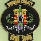 Sonoma County Sheriff California Police Bomb Squad Patch