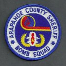 Arapahoe County Sheriff Colorado Police Bomb Squad Patch
