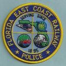 Florida East Coast Railroad Police Patch