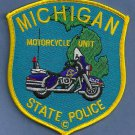 Michigan State Police Motorcycle Patch