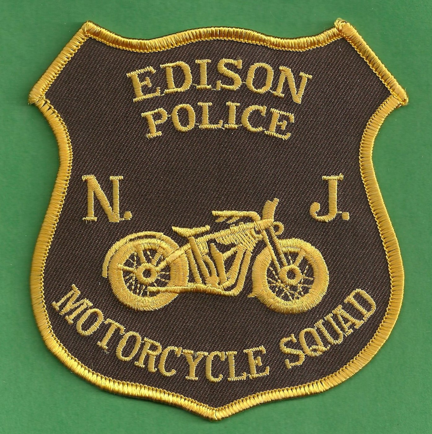 Edison New Jersey Police Motorcycle Patch