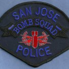 San Jose California Police Bomb Squad Patch