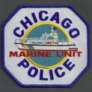 Chicago Illinois Police Marine Patrol Patch