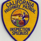 California Highway Patrol Inspection Specialist Patch