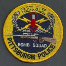 Pittsburgh Pennsylvania Police SWAT Bomb Squad Patch