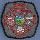 Redmond Regional Airport Fire Rescue Patch ARFF