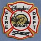 Disneyland Resort California Fire Rescue Patch