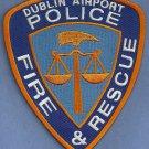 Dublin Ireland Airport Fire Rescue Patch ARFF