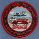 Phoenix Sky Harbor International Airport Fire Rescue Patch ARFF