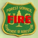 U.S. Forest Service Fire Operations Patch