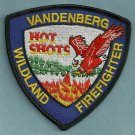 Vandenberg Air Force Base California Fire Hot Shot Crew Patch
