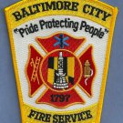 Baltimore Maryland Fire Patch