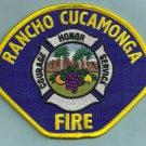 Rancho Cucamonga California Fire Patch