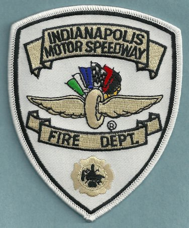 Indianapolis Motor Speedway Indiana Fire Rescue Patch