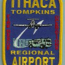 Ithaca-Thompkins Regional Airport Fire Rescue Patch ARFF