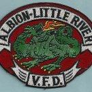 Albion - Little River California Fire Patch