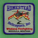 Homestead Helicopters Montana Fire Helitack Patch